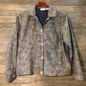 Travel Smith Button Down Shirt Jacket